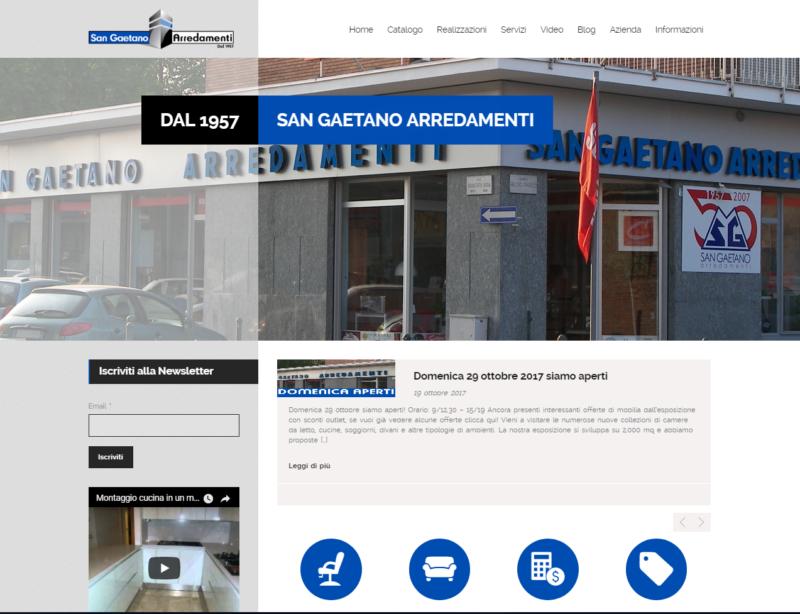SAN GAETANO ARREDAMENTI - TopMedia S.r.l.